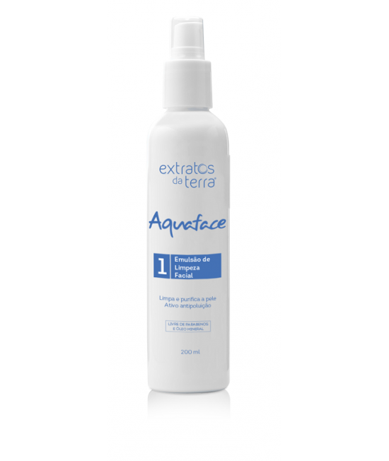 Aquaface Emulsão de Limpeza Facial 200 ml