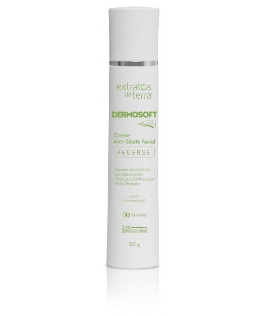 Dermosoft Day Reverse Creme Anti-Idade Facial 50 g