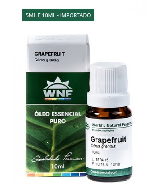 Óleo Essencial de Grapefruit 10 ml - WNF
