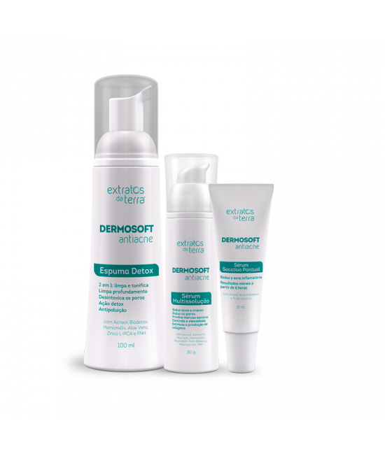 Dermosoft Antiacne Kit Home Care