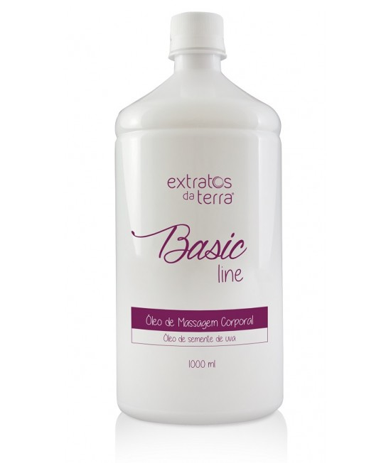 Basic Line Óleo de Massagem Corporal 1000 ml
